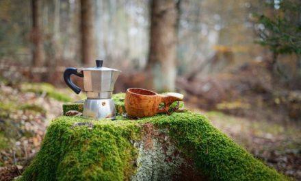La cafetière Bialetti: la finesse italienne au camping